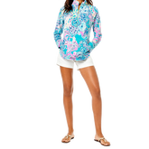 Alternate View 1 of Skipper Once Upon a Tide Print Quarter Zip PopOver