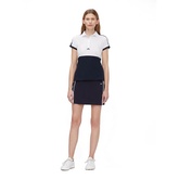 Alternate View 1 of Camille Short Sleeve Color Block Golf Polo