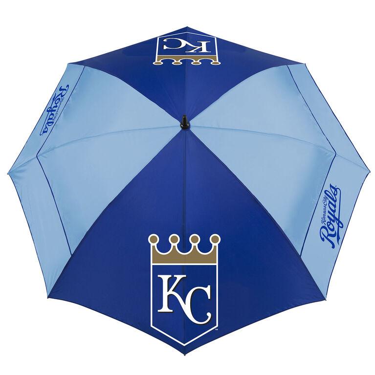 "Team Effort Kansas City Royals 62"" Windsheer Lite Umbrella"