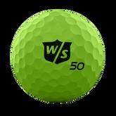 Alternate View 1 of Fifty Elite Green Golf Balls