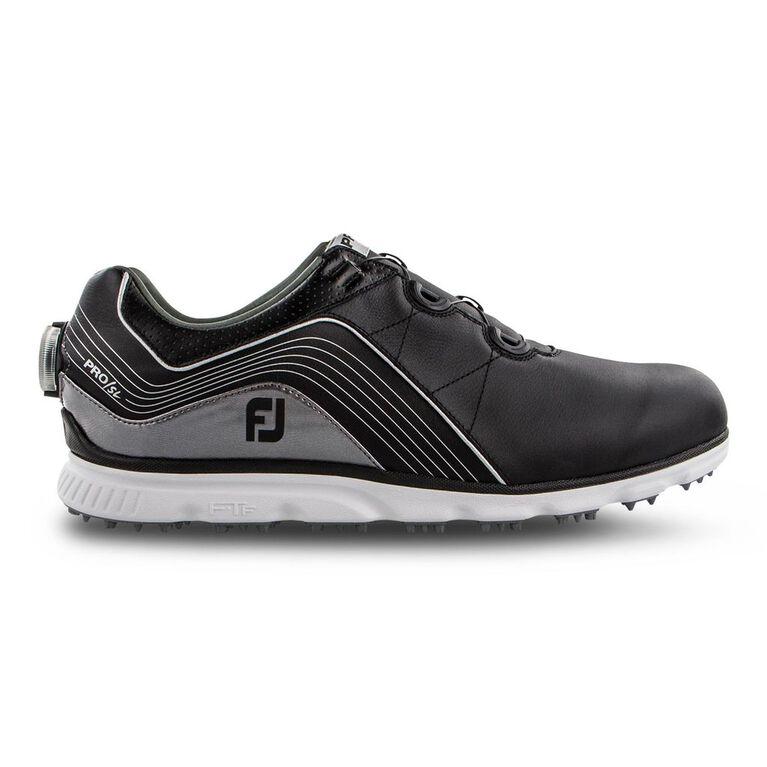 Pro/SL BOA Men's Golf Shoe - Black/Silver (Previous Season Style)