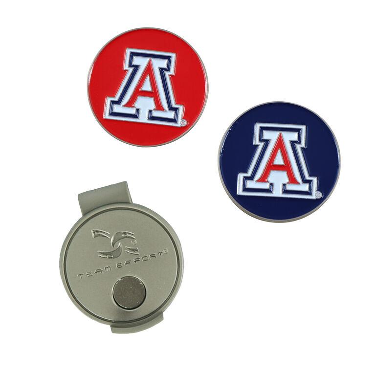 Team Effort Arizona Wildcats Hat Clip