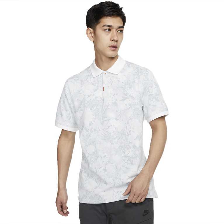 Unisex Floral Polo