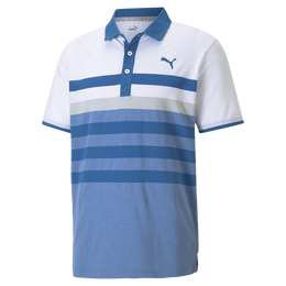 MATTR One Way Chest Stripe Golf Polo