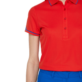 Alternate View 1 of Royal Group: Leana Lux Pique Polo