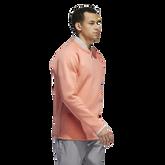 Alternate View 1 of Long Sleeve Quarter Zip Blade Collar Sweater