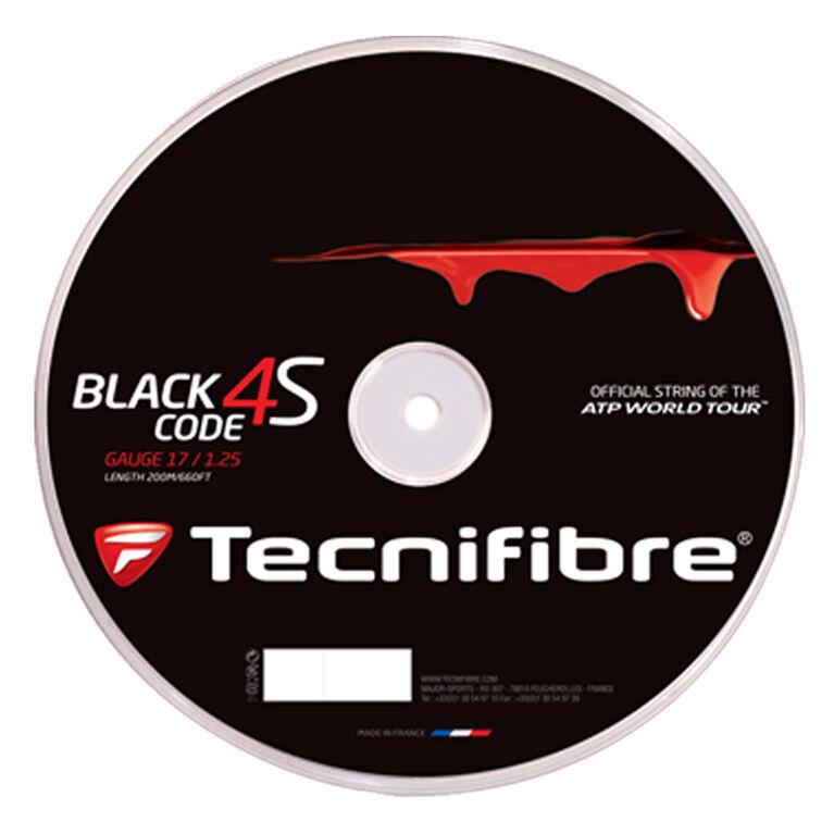 Tecnifibre Black Code 4S 17 Gauge String Reel - Black