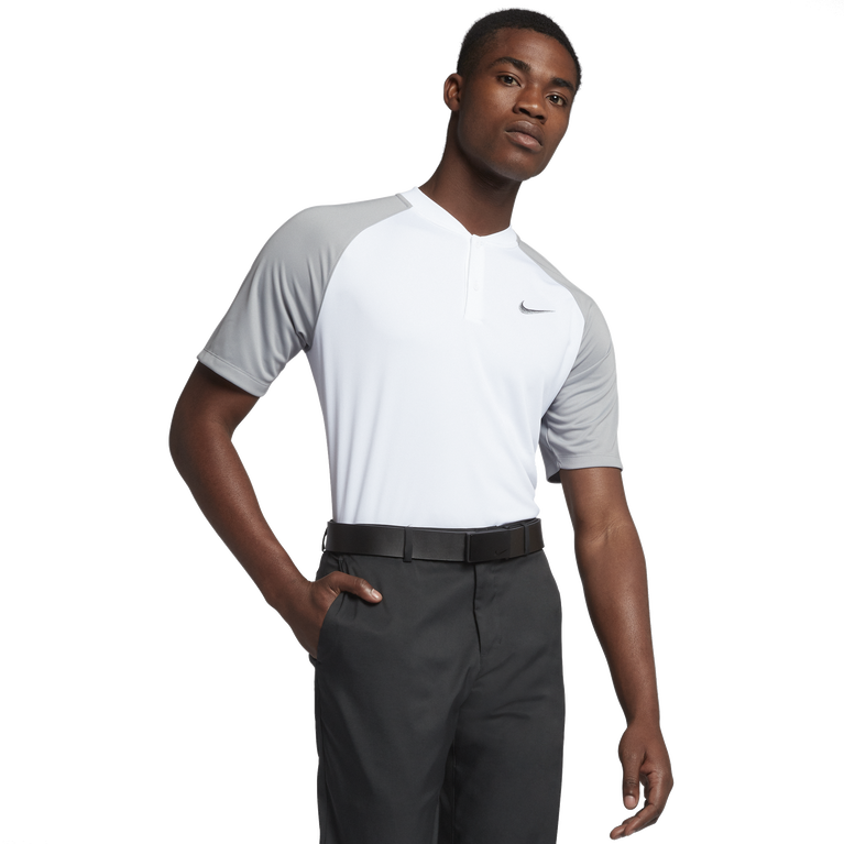 Victory Solid Blade Collar Momentum Golf Polo