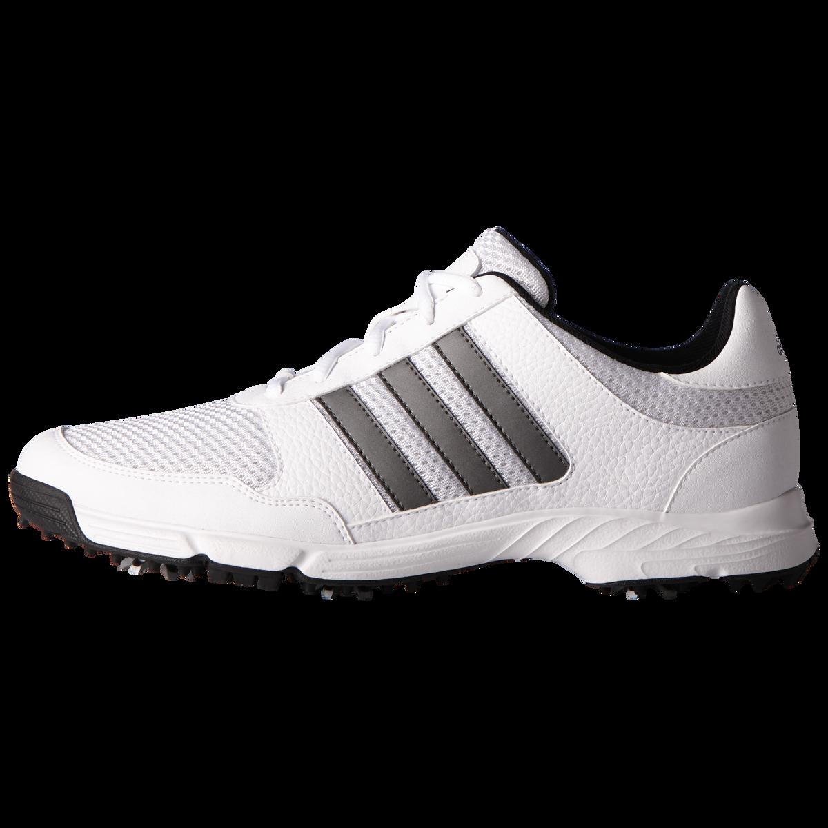aa0413c90820d7 adidas Tech Response Men's Golf Shoe - White/Silver Zoom Image