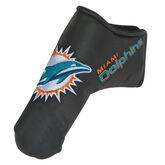 Team Effort Miami Dolphins Black Blade Putter Cover