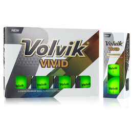 Volvik VIVID Golf Balls - Green (Prior Generation)