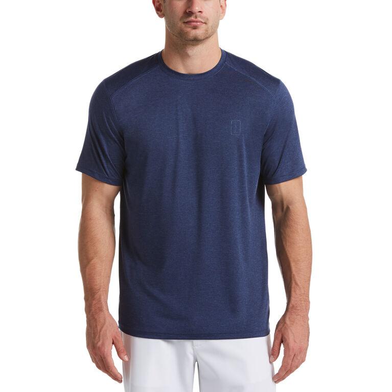 Live Under Par Solid Crew Neck Shirt