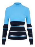 Alternate View 4 of Berthe Long Sleeve Block Stripe Sweater