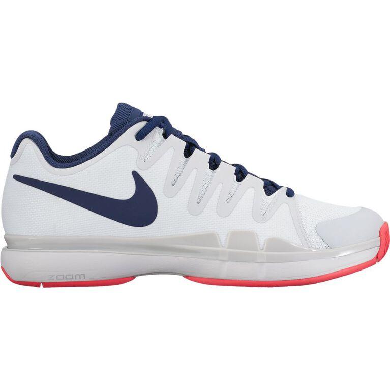 Nike Zoom Vapor 9.5 Tour Women's Tennis Shoe - White/Blue