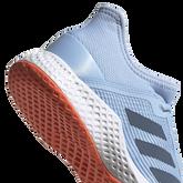 Alternate View 7 of Adizero Club Women's Tennis Shoe - Light Blue
