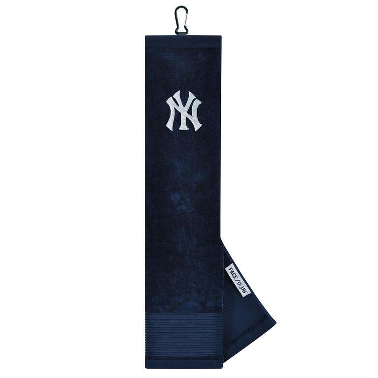 Team Effort New York Yankees Tri-fold Embroidered Towel