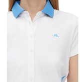Alternate View 2 of Bea Short Sleeve Colorblock Polo
