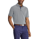 Classic Fit Print Jersey Polo Shirt