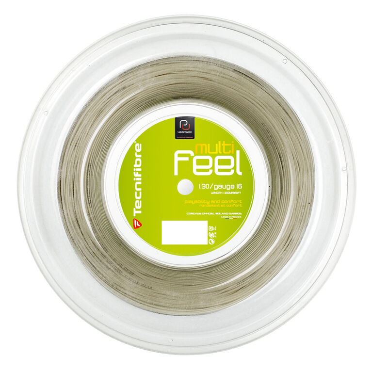 Tecnifibre MFeel 16 Gauge String Reel - Mineral