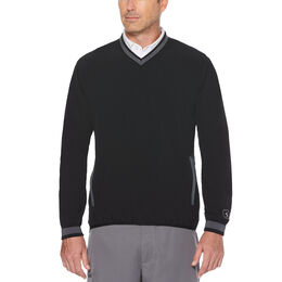 PGA TOUR Water Repellent V-Neck Pullover