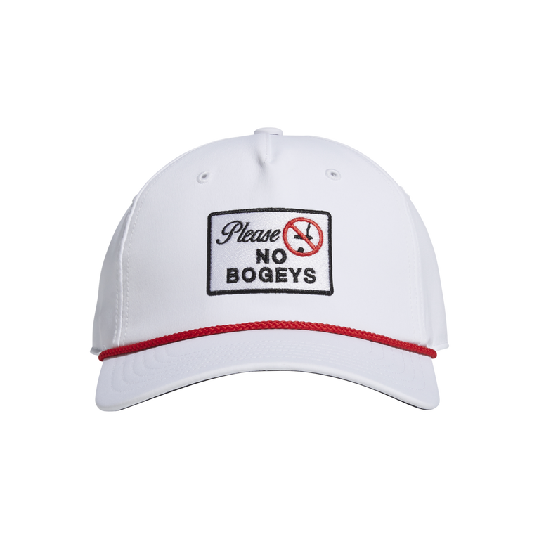 No Bogeys Patch Snapback Hat