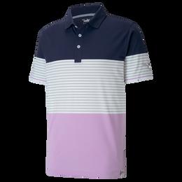 Cloudspun Taylor Colorblock Golf Polo