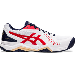 GEL CHALLENGER 12 Men's Tennis Shoes - White/Red