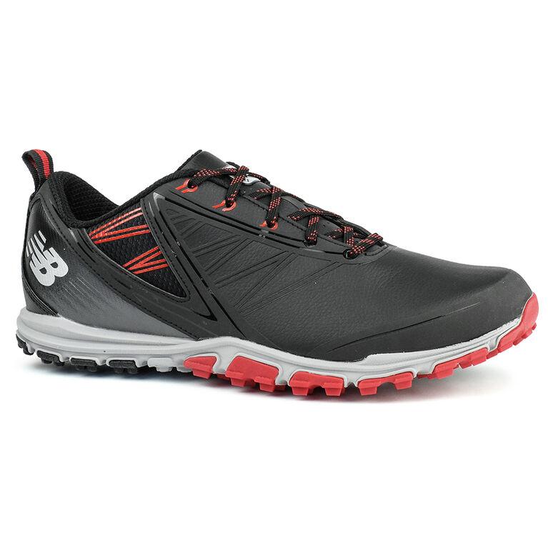 New Balance Minimus SL Men's Golf Shoe - Black/Red