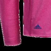 Alternate View 4 of Girls Long Sleeve Full Zip  Heathered Jacket