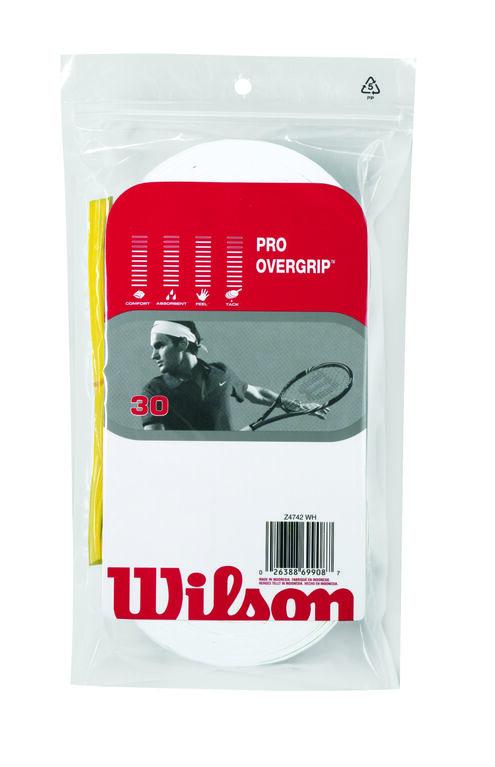 Wilson Pro Overgrip 30 Pack-White