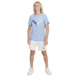 NikeCourt Dri-FIT Rafa Boys' Short Sleeve Tennis T-Shirt