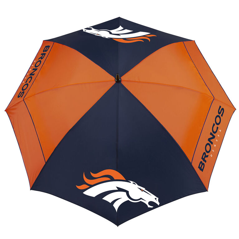 "Team Effort Denver Broncos 62"" WindSheer Lite Umbrella"