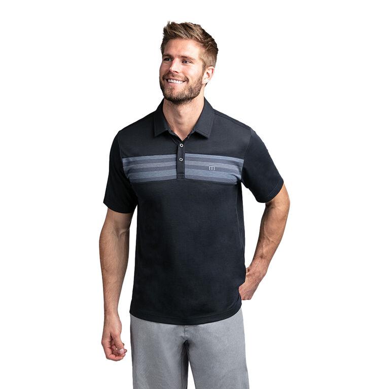 Rosete Short Sleeve Chest Stripe Polo