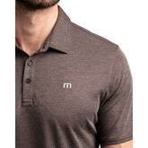 Alternate View 3 of Hook or Crook Heathered Short Sleeve Polo