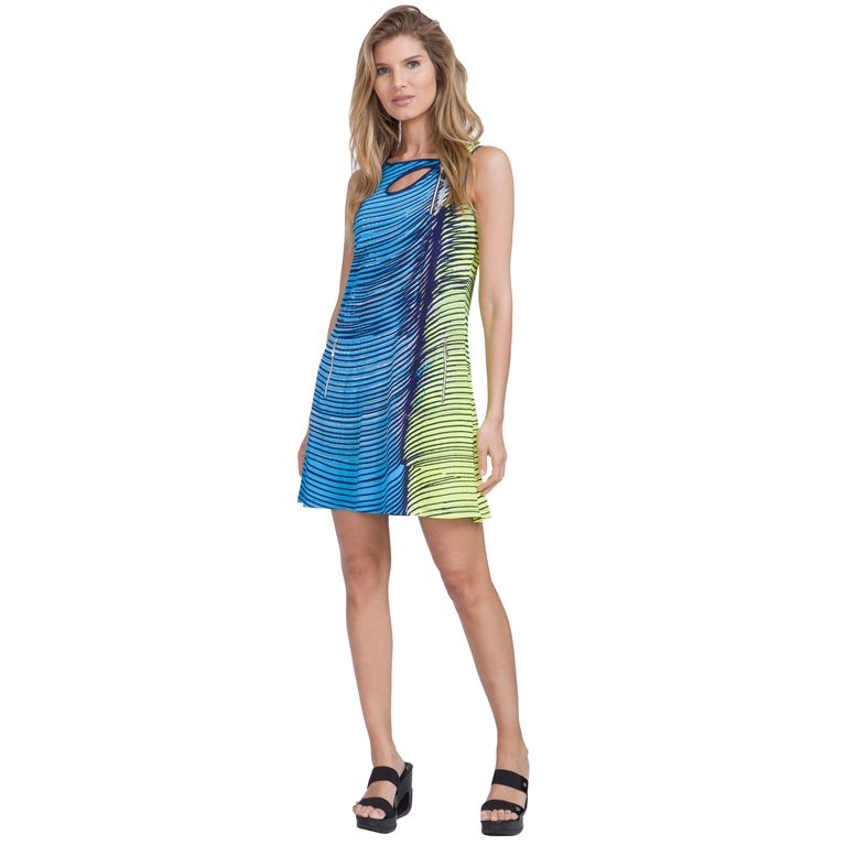 Butter Collection: Graphic Swirl Dress