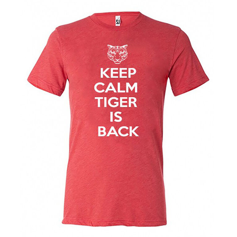 Swing Juice - Keep Calm Tiger Tee