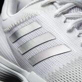 adidas Barricade Club Women's Tennis Shoe - White/Silver