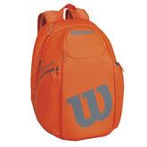 Wilson Burn Backpack - Orange/Grey
