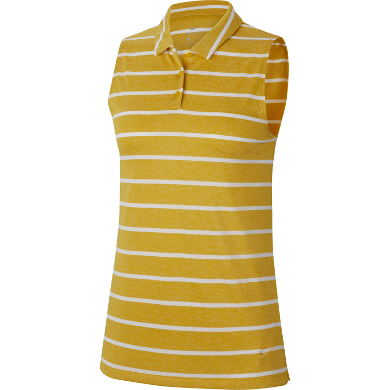Dri-FIT Women's Sleeveless Striped Golf Polo