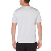 Alternate View 2 of Skeletal Print Short Sleeve Heathered Tee Shirt