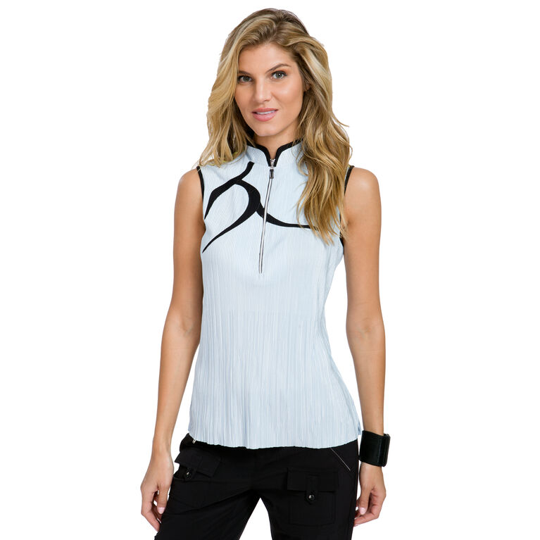 Cosmic Group: Solid Sleeveless Crunch Top