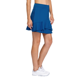 Alternate View 1 of Tranquil Bay Collection: Fit and Flare Pull On Ruffled Skort