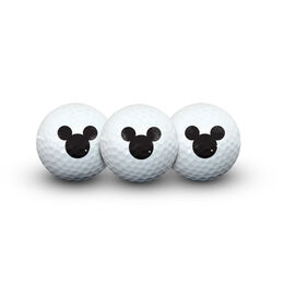 Mickey Mouse/Disney Golf Ball Pack of 3