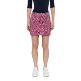 Alternate View 2 of Thea TX Jersey Leopard Skirt