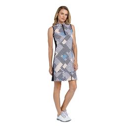 Lila Chevron Stripe Dress