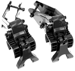 Club Booster eWheels Bracket - Clicgear 3-Wheel Cart