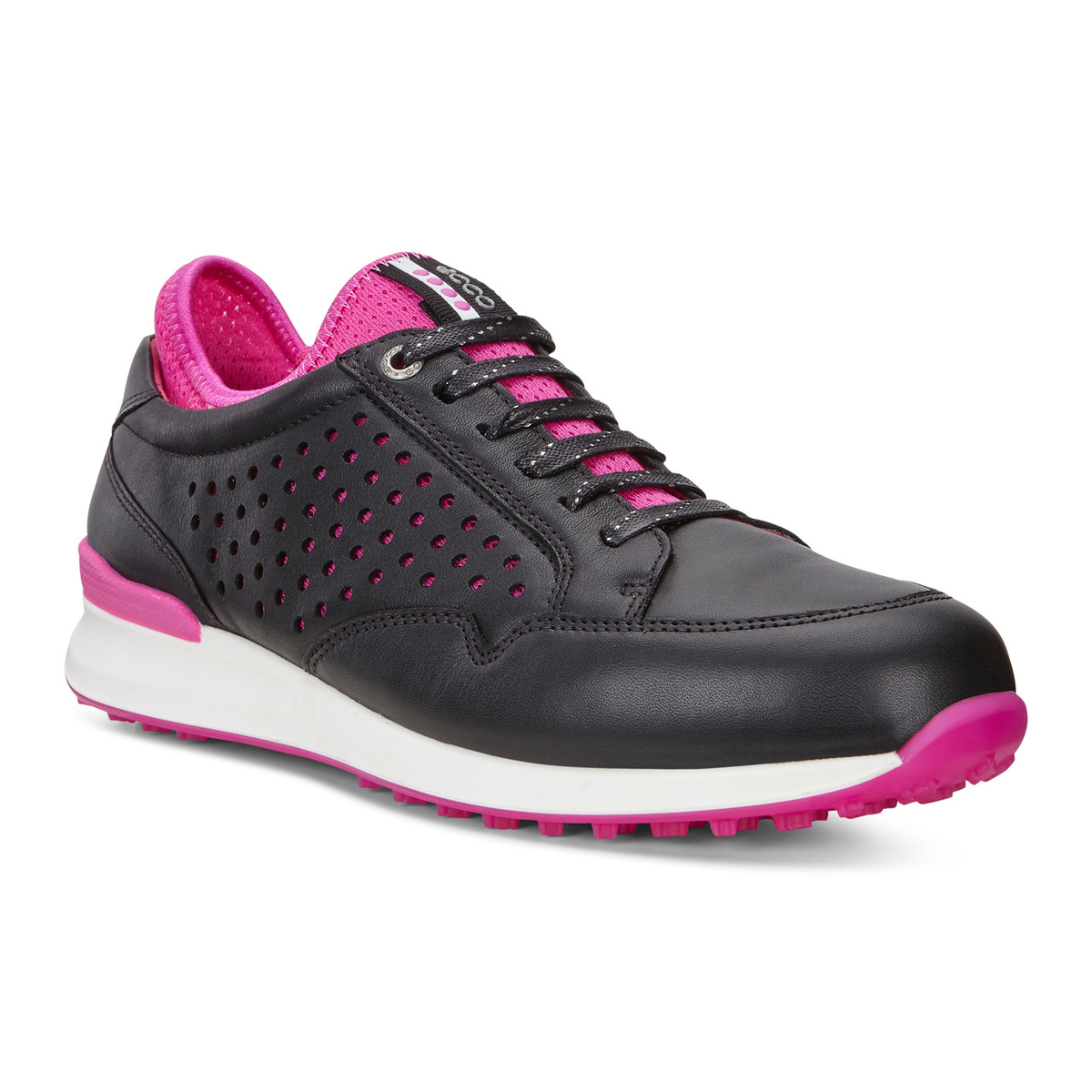 1ecd3bf374 ECCO Speed Hybrid Women's Golf Shoe - Black/Red