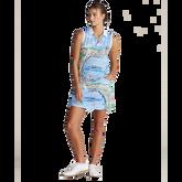 Alternate View 1 of Airflow Graphic Print Sleeveless Polo Shirt