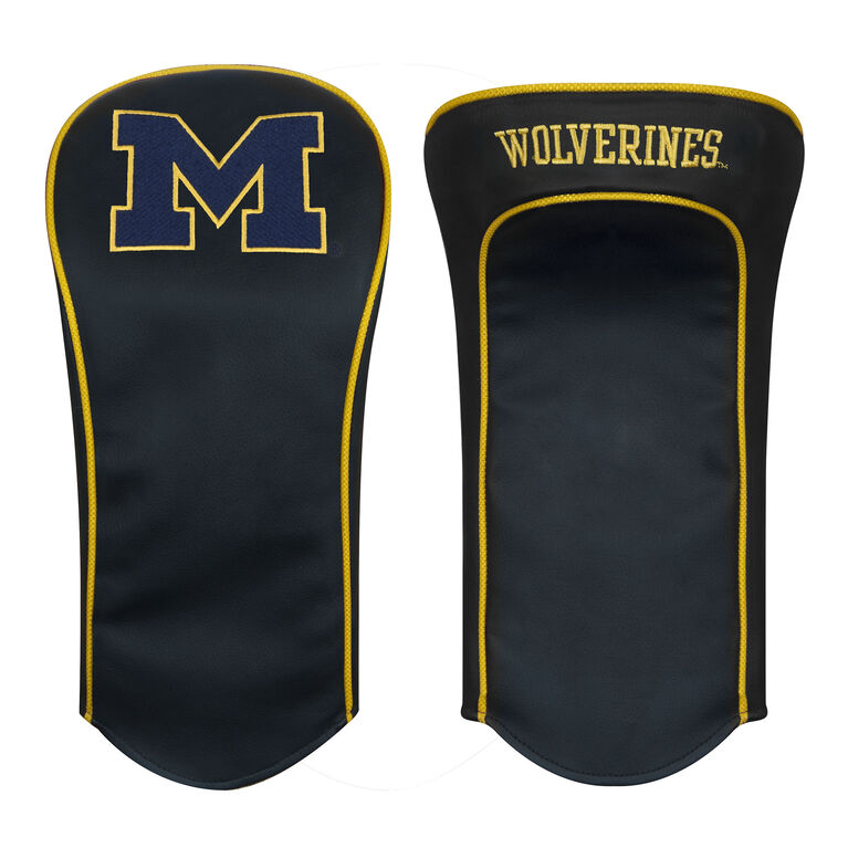 Team Effort Michigan Black Driver Headcover