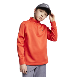 Therma Repel Boys' Long Sleeve 1/2-Zip Golf Top